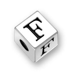 45mm Alphabet Letter F Bead Image