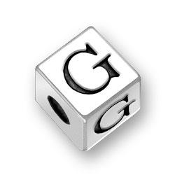 45mm Alphabet Letter G Bead Image