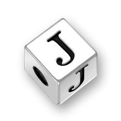 45mm Alphabet Letter J Bead Image