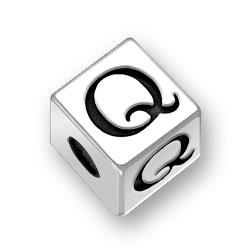 45mm Alphabet Letter Q Bead Image