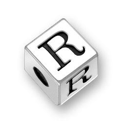 45mm Alphabet Letter R Bead Image