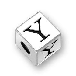 45mm Alphabet Letter Y Bead Image