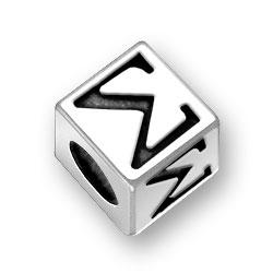 55mm Greek Sigma Alphabet Bead Image