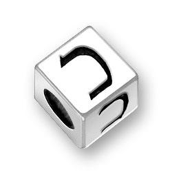55mm Hebrew Kuf Alphabet Bead Image