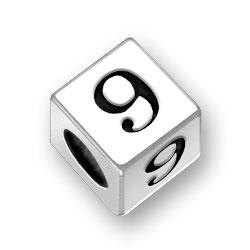 55mm Number 9 Nine Bead Image