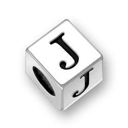 55mm Alphabet Letter J Bead Image