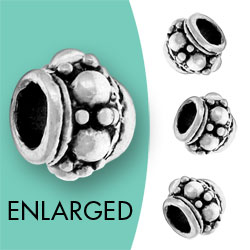 Bali Style Bead With Circles Image