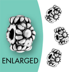 Bali Style Flower Spacer Beads Image
