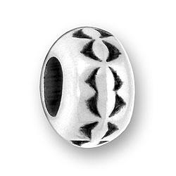 Luv Link Half Round Design Bead Image