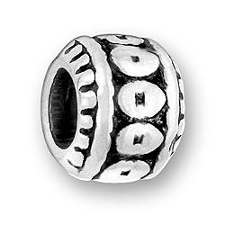 Luv Link Flat Circular Design Bead Image