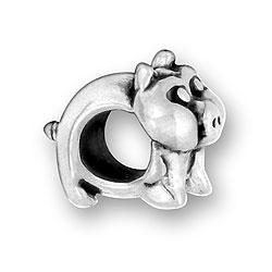 Luv Link Pig Bead Image