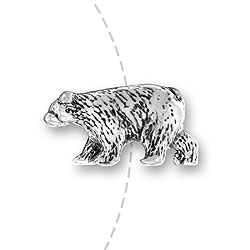 Grizzly Bear Bead Image