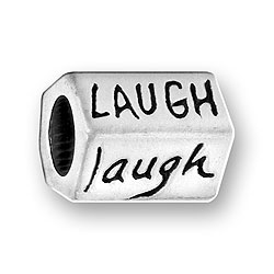 Luv Link Laugh Message Bead Image