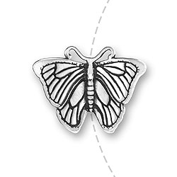 Morpho Butterfly Bead Image