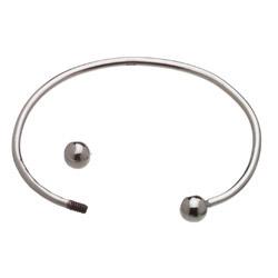 25 To 3mm Flex Cuff Bracelet 6mm Ball Image