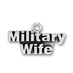 Military Wife Charm Image