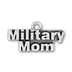 Military Mom Charm Image