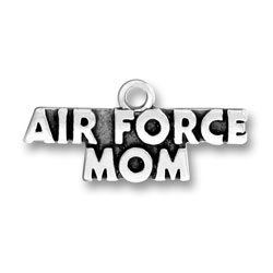 Air Force Mom Charm Image