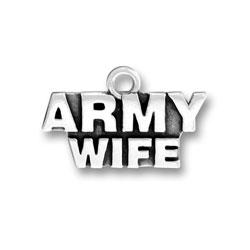 Army Wife Charm Image