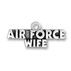 Air Force Wife Charm Image