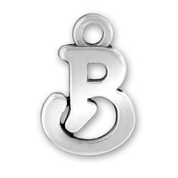 Script Letter B Charm Image
