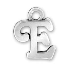 Script Letter E Charm Image