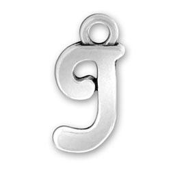 Script Letter J Charm Image