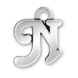 Script Letter N Charm Image