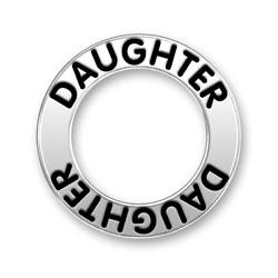 Daughter Message Ring Image