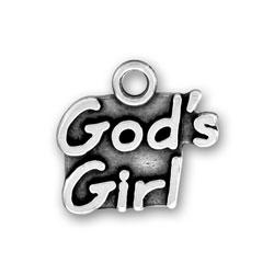 Gods Girl Charm Image