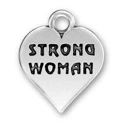 Strong Woman Charm Image
