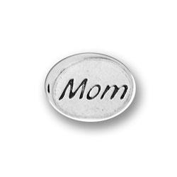 Pewter Mom Message Bead Image