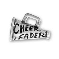 Cheerleader Megaphone Charm Image