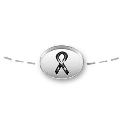 Ribbon Mini Message Bead Image
