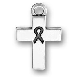Ribbon Cross Charm Image