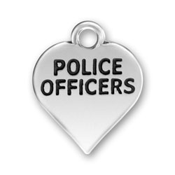 Police Officers Charm Image