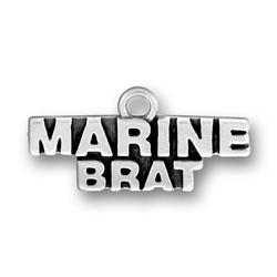 Marine Brat Charm Image
