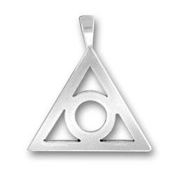 Triangle Circle Pendant Image