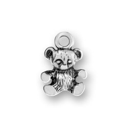 Small Teddy Bear Charm Image