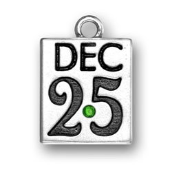 December 25th With Green Crystal Image