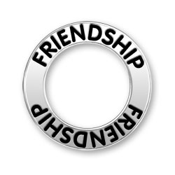 Friendship Message Ring Image
