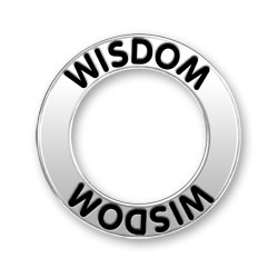 Wisdom Message Ring Image