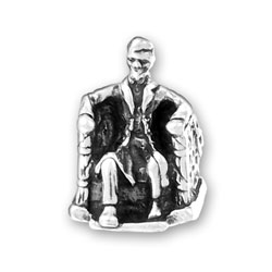 Lincoln Memorial Charm Image