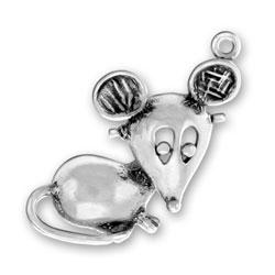 Large Mouse Charm Image