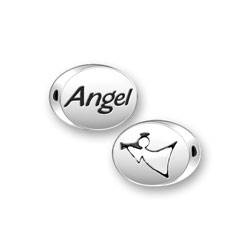 Angel Mini Message Bead Image