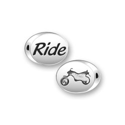 Ride Mini Message Bead Image