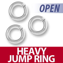 Heavy Open Jump Ring Image