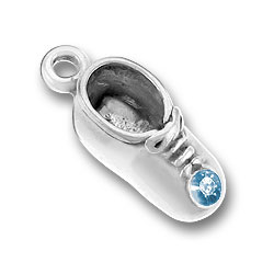 March Baby Shoe Charm Image