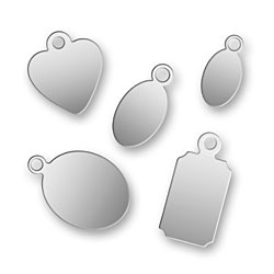 Sample Pack Of Stainless Steel Jewelry Tags Image