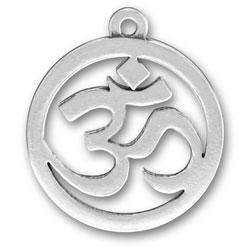 Om Sanskrit Yoga Charm Image
